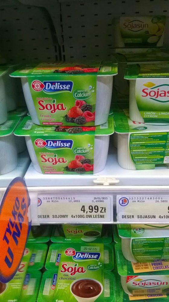 Wegańskie produkty E.Leclerc i ptasie mleczko