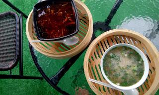 Chińskie pierożki w wersji wegan – Parnik i Bali Cafe & Dim Sum House