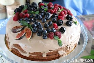 Wegański tort idealny