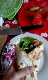 Czas na piknik! Wegańska tortilla błyskawiczna
