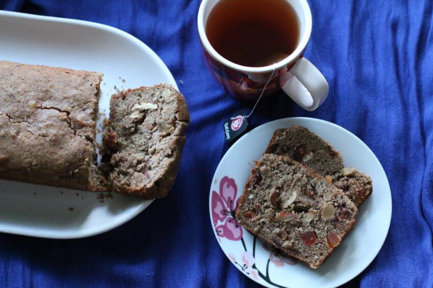 Wegański i bezglutenowy keks